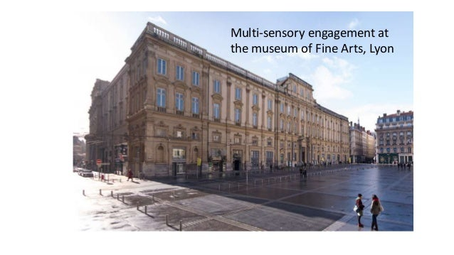 Multi-sensory engagement at the museum of Fine Arts, Lyon