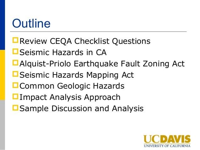 FAULT-RUPTURE HAZARD ZONES IN CALIFORNIA - Davis