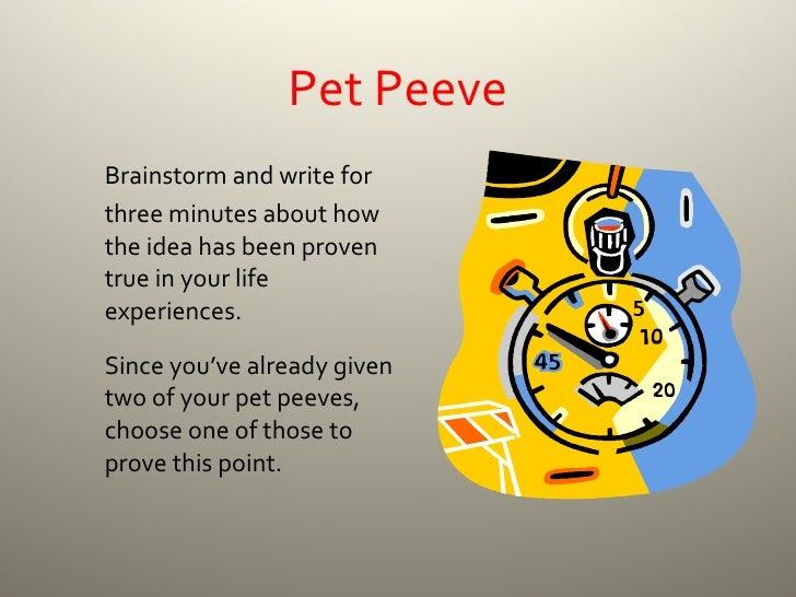 My top 6 writing pet peeves