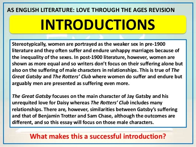 great age english essay Note: citations are based on reference standards however, formatting rules can vary widely between applications and fields of interest or study the specific requirements or preferences of your reviewing publisher, classroom teacher, institution or organization should be applied.