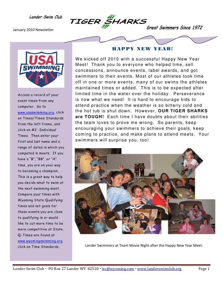 January2010Newsletter      ...