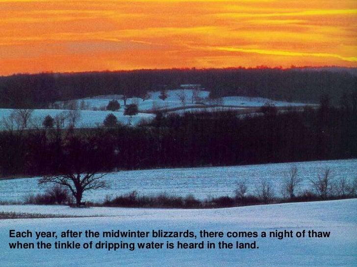 january thaw aldo leopold sand county almanac pdf