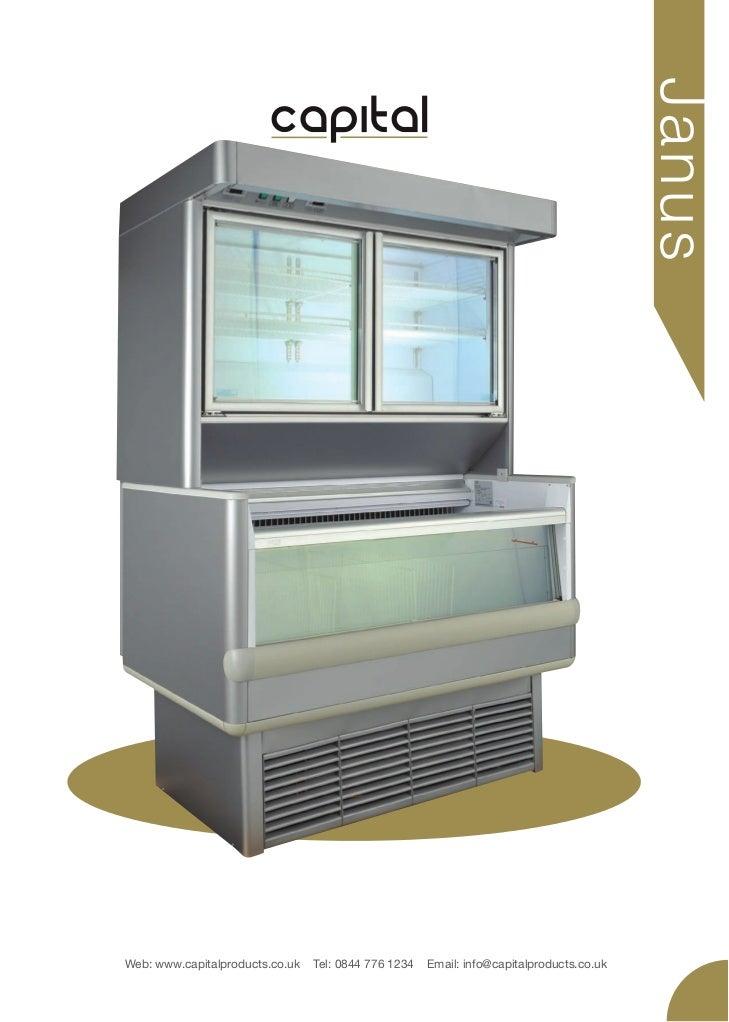 Capital cooling janus half glass door display freezer glass door display freezer j an u sweb capitalproducts tel 0844 776 planetlyrics Gallery