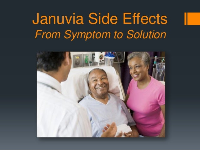Januvia Side Effects From Symptom to Solution