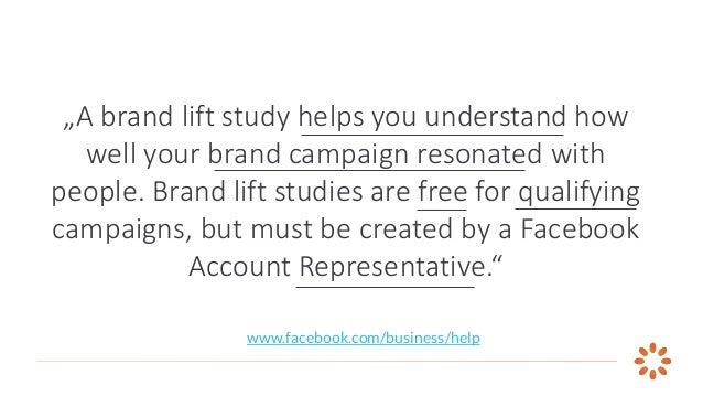 Facebook Brand Lift Study Slide 2