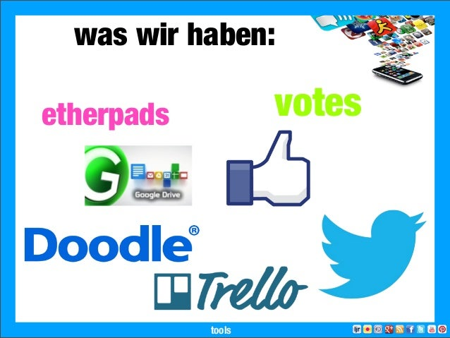 2013 Landesjugendring Niedersachsen e.V.was wir haben:etherpads votestools