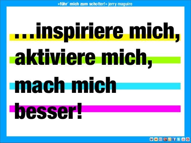 2013 Landesjugendring Niedersachsen e.V.…inspiriere mich,aktiviere mich,besser!mach mich»führ´ mich zum schotter!« jerry m...