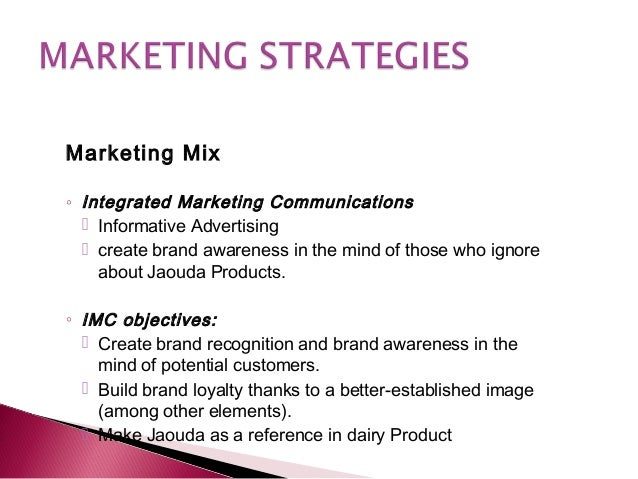 marketing plan infy milk The following marketing plan forms the basis for the introduction of an innovative new product by the coca-cola company the analysis allows us to outline the best strategies to follow for the achievement of the company's strategic goals.