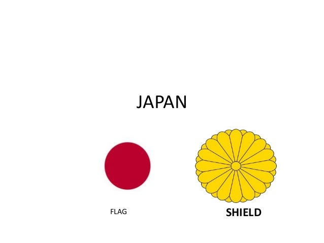 JAPAN  FLAG SHIELD