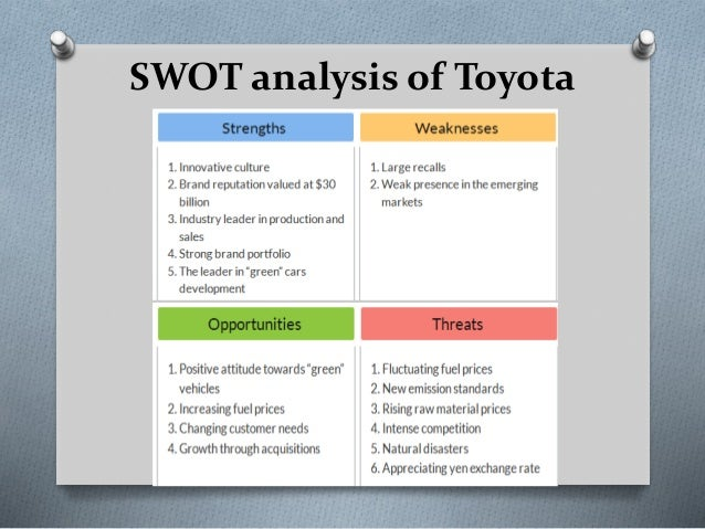Process strategy and analysis for toyota motors corporation essay