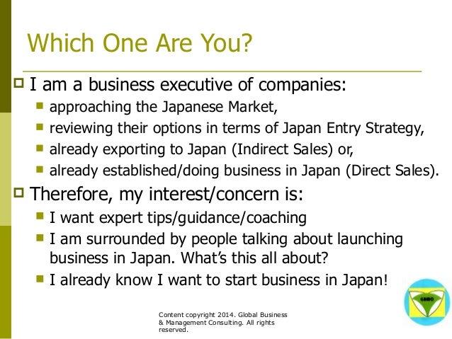 GBMC Presentation - Japan: 3 Keys to Success - Philippe Huysveld - octobre 2014 Slide 2