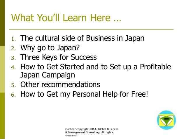 GBMC Presentation - Japan: 3 Keys to Success - Philippe Huysveld - octobre 2014 Slide 3