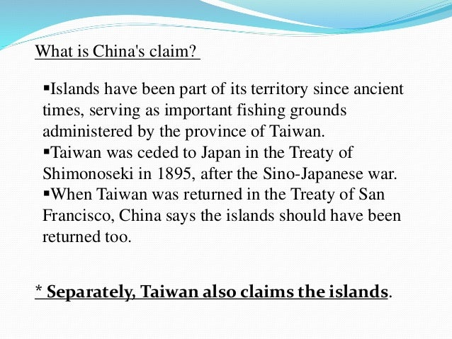 analysis of senkaku diaoyu dispute role Senkaku islands dispute essay the chinese mainland have attempted to land on the island and it is only during 2004 when a federation defending the diaoyu (senkaku) during which the senkaku dispute played a very minor role.