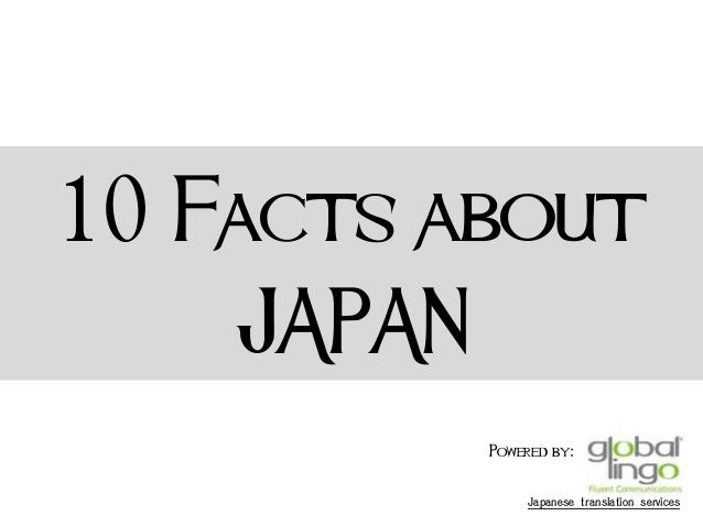 Facts About Japan 60
