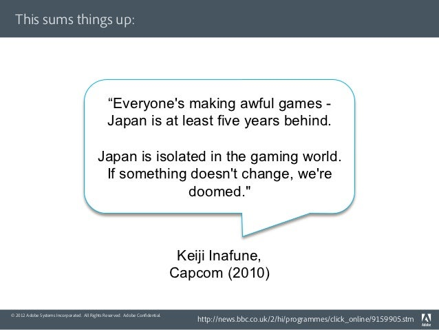 """This sums things up:                                               """"Everyones making awful games -                        ..."""