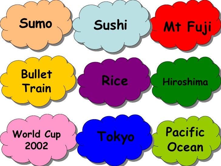 Sumo Rice World Cup 2002 Mt Fuji Pacific Ocean Bullet Train Sushi Tokyo Hiroshima