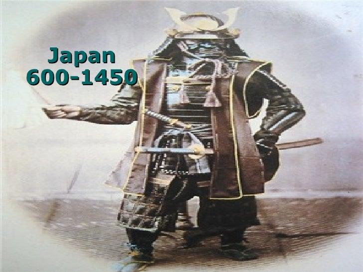 Japan 600-1450