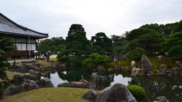 Japanese gardens always have water, either a pond or stream, or, in the dry rock garden, represented by white sand ...