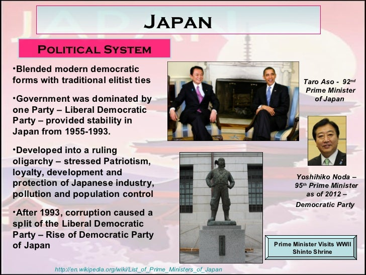 an analysis of the liberal democratic party in the japanese political economy Japan transformed: political change and what explains the dominance of the liberal democratic party the strengths of this political economy approach.
