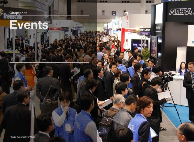 CAR-ELE JAPAN gathers a variety of automotive electronics technologies such as components, materials, software, manufactur...
