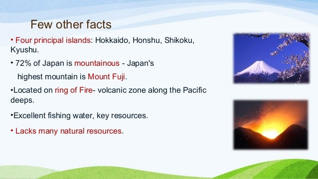 Japan Natural Resources Facts