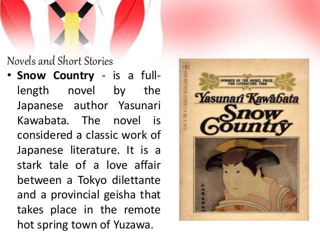 Japan drama, novel, short stories