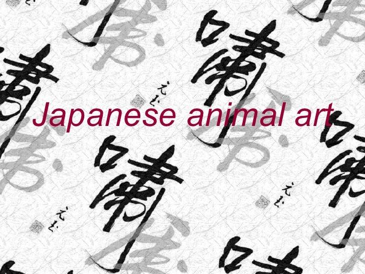 Japanese animal art