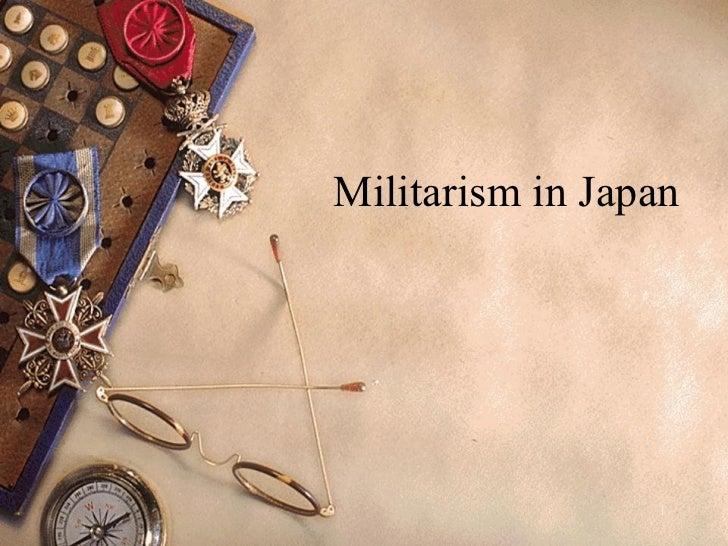 japanese militarism in wwii, Presentation templates