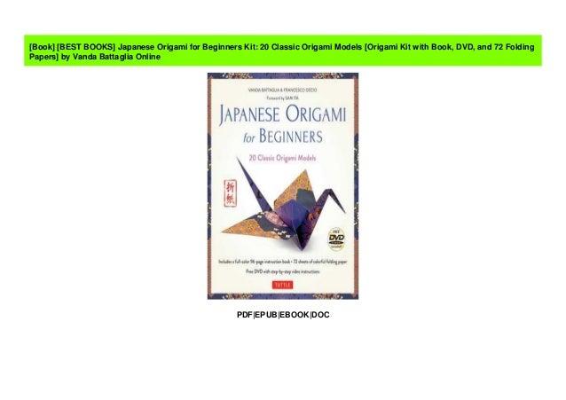 5 Best Origami Books for Beginners | Nezobooks | 451x638
