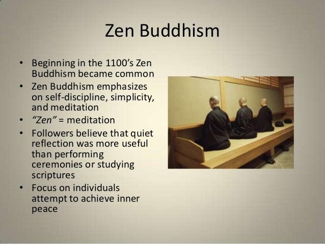 a study on buddhism and zen The department of east asian studies has invited buddhist studies scholars from  around the world for a conference on chan/zen/son buddhism in china,.