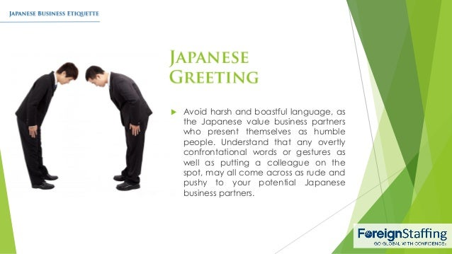 Japanese business etiquette 4 m4hsunfo