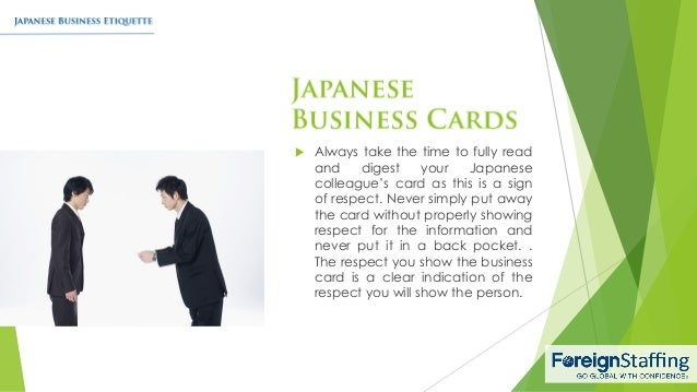 7 - Japanese Business Card