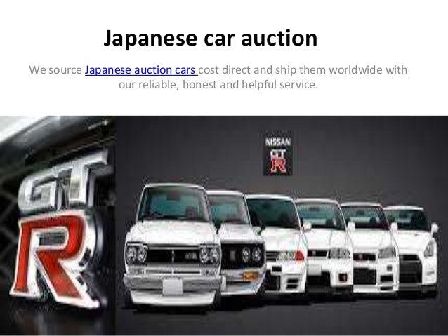 Japanese car auction