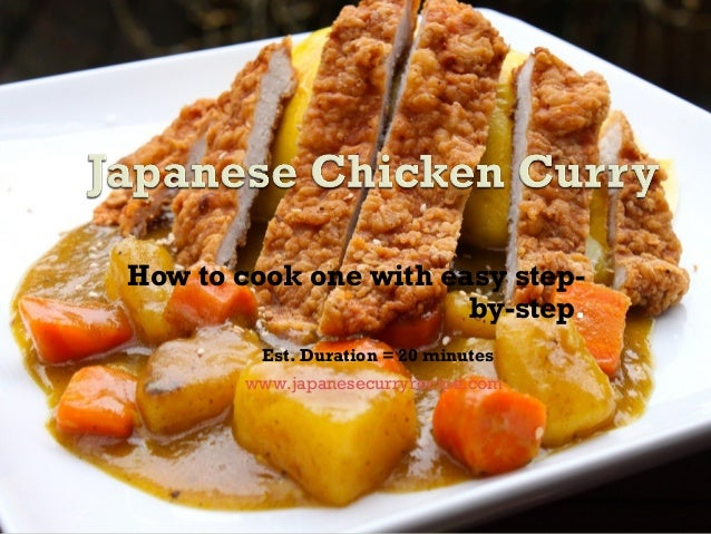 Japanese chicken curry recipes easy