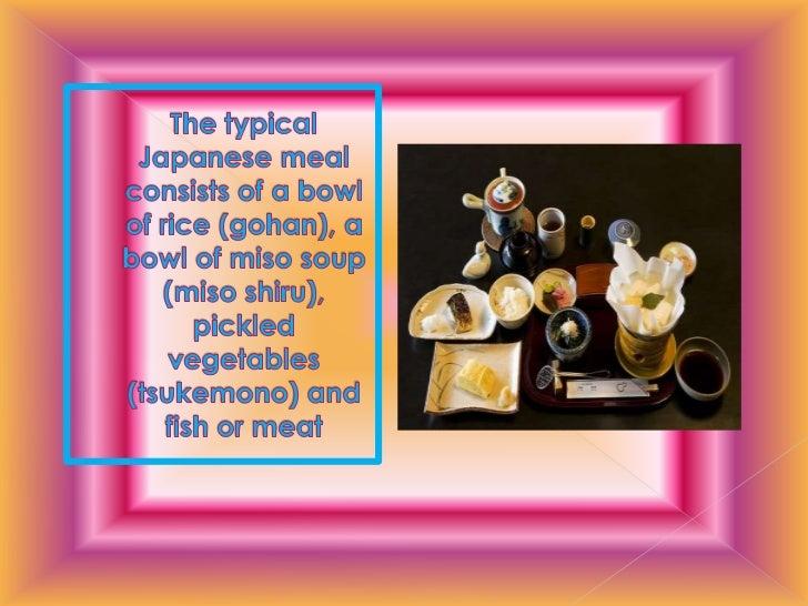 Japanese cuisine Slide 3