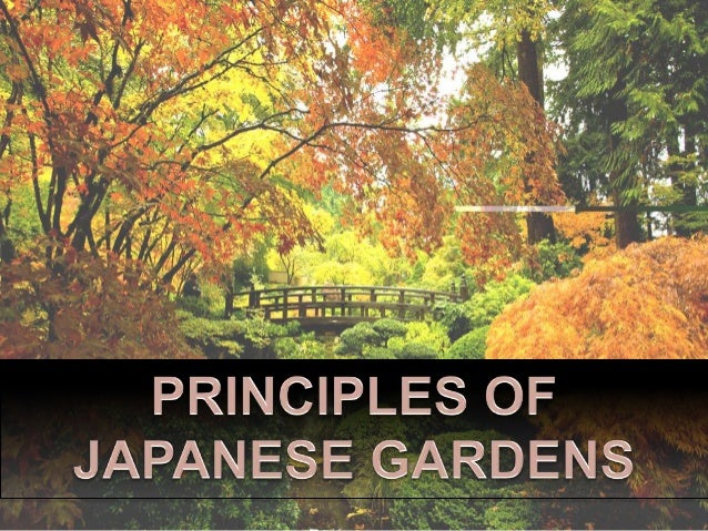 ESSENTIAL ASPECTS; 6.  A Common Design Principle Found In Most Japanese  Garden ...