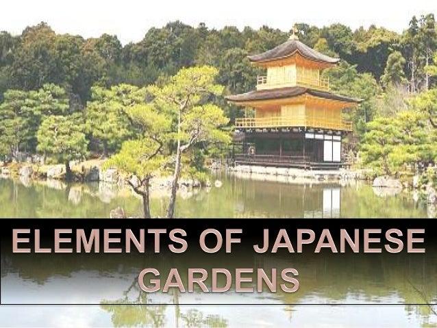 Japanese Gardens Study