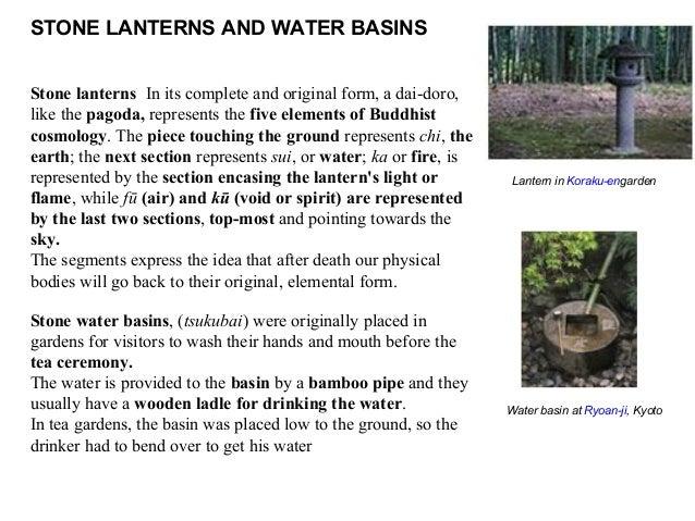 Japanese gardens - Japanese garden water basin ...
