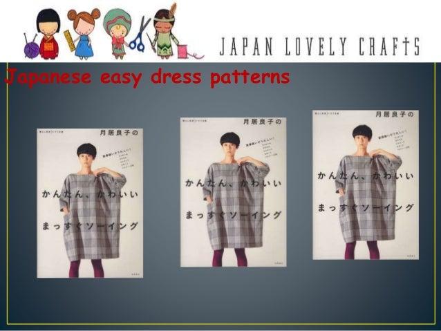 Japanese easy dress patterns