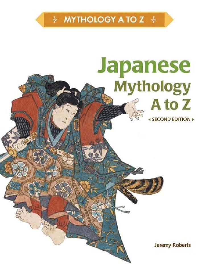 JapaneseMythology  A to Z second Edition