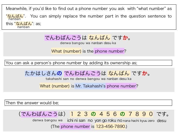 Japan Phone Numbers | JapanVisitor Japan Travel Guide