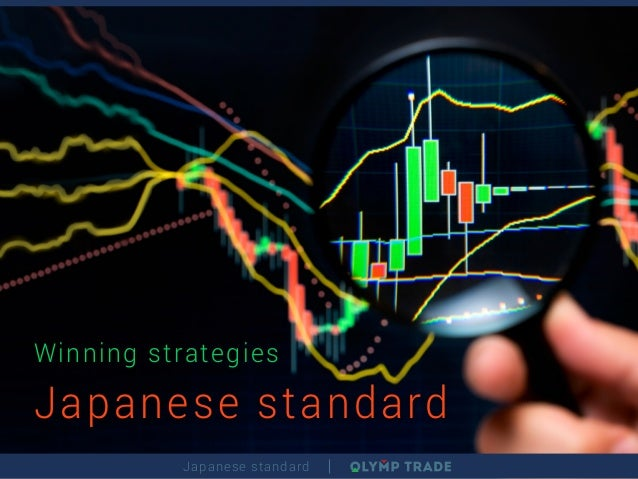Japanese standard Winning strategies Japanese standard