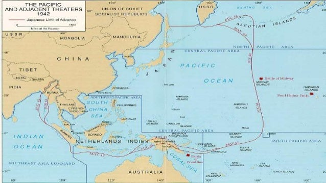 Japan In WWII - Japan map during ww2