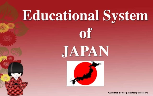education system in japan pdf