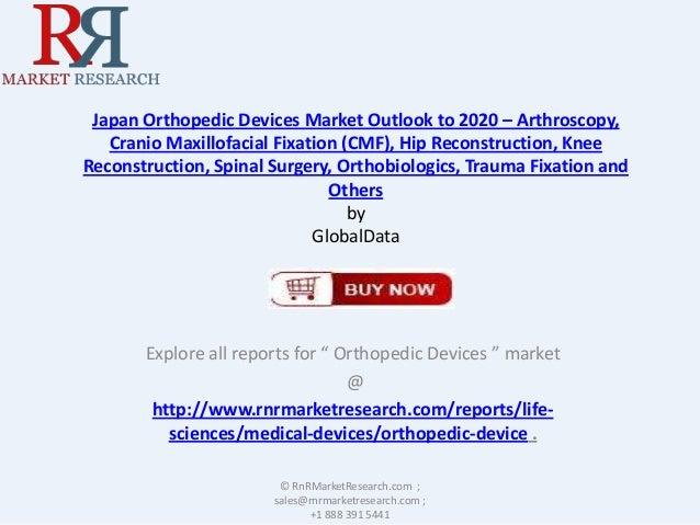 Japan Orthopedic Devices Market Outlook to 2020 – Arthroscopy, Cranio Maxillofacial Fixation (CMF), Hip Reconstruction, Kn...