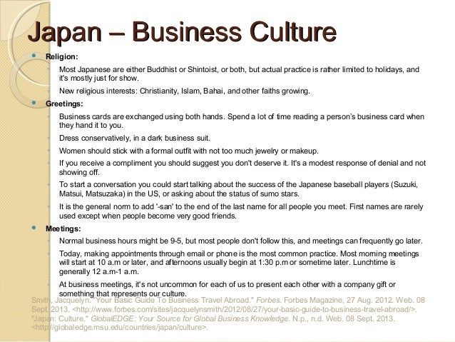 All you need to know to do Business in Japan