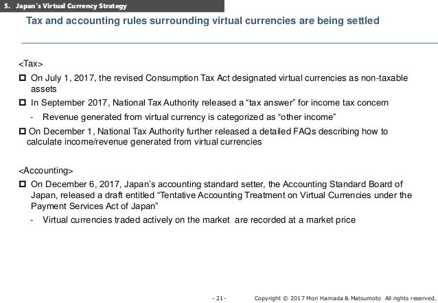 Japan's virtual currency regulation and its recent developments ver3a