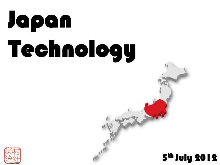 JapanTechnology             5th July 2012