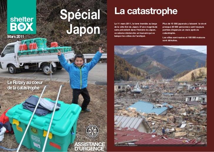 ''                                         La catastrophe                     Spécial                      Japon          ...