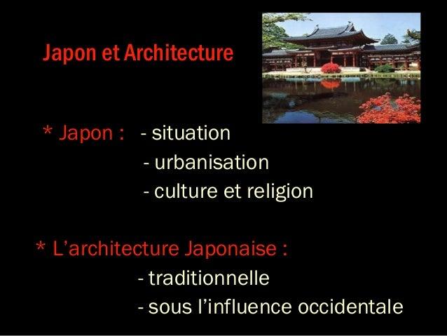 Japon & architecture Slide 2